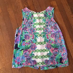 Lilly Pulitzer Iona Tank Top Large